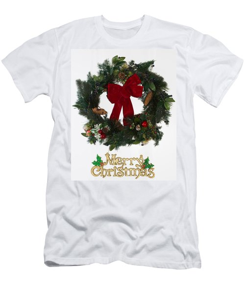 Merry Christmas Men's T-Shirt (Slim Fit) by Kenneth Cole