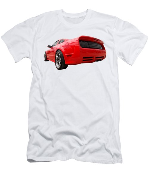 Merry Christmas Saleen Mustang Men's T-Shirt (Athletic Fit)
