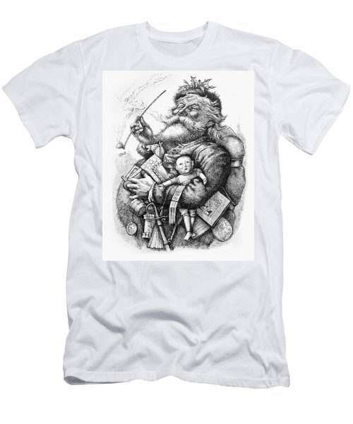 Merry Old Santa Claus Men's T-Shirt (Athletic Fit)