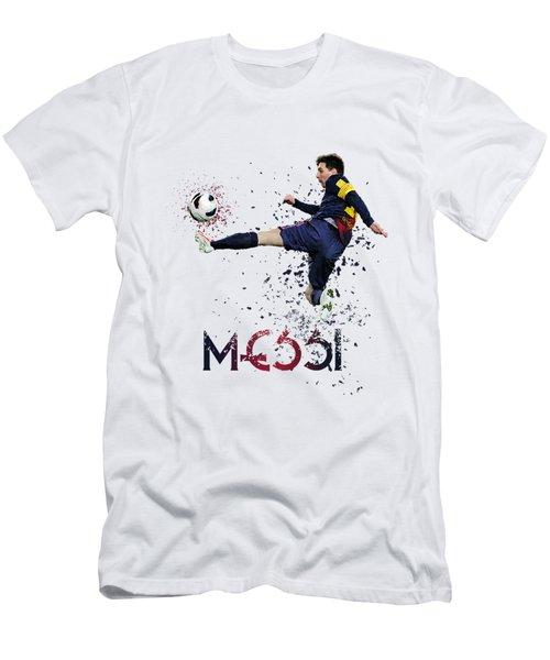 Messi Men's T-Shirt (Slim Fit) by Armaan Sandhu