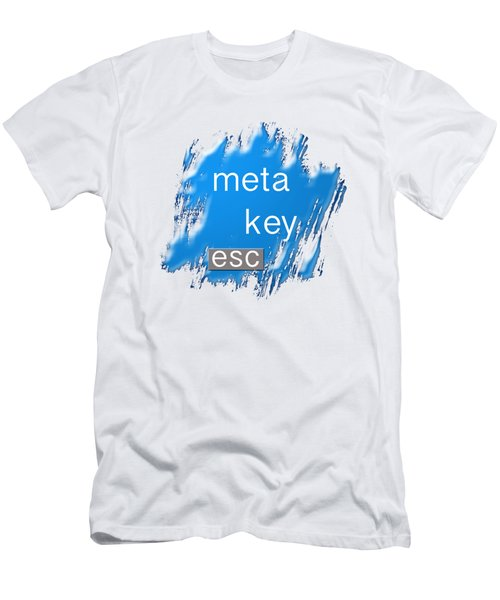 Meta Key Esc Men's T-Shirt (Slim Fit)