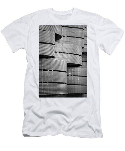 Metal Waves Men's T-Shirt (Athletic Fit)