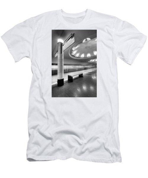Metro #1591 Men's T-Shirt (Slim Fit) by Andrey Godyaykin
