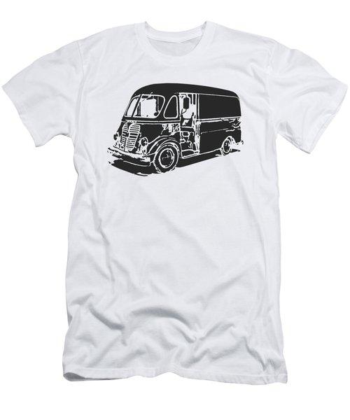 Metro Step Van Tee Men's T-Shirt (Slim Fit) by Edward Fielding