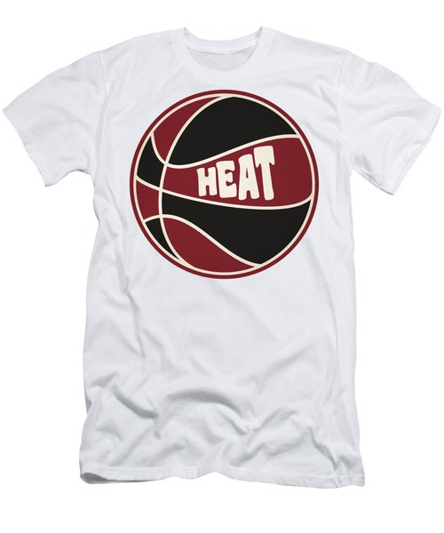 Miami Heat Retro Shirt Men's T-Shirt (Slim Fit) by Joe Hamilton