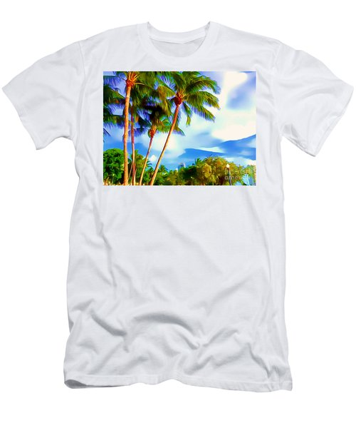 Miami Maurice Gibb Memorial Park Men's T-Shirt (Athletic Fit)