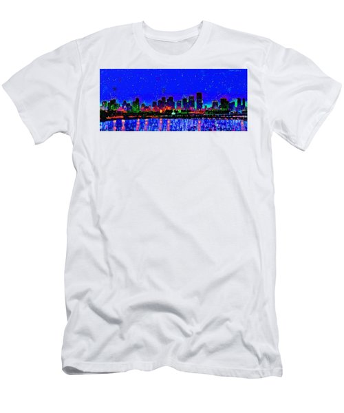 Miami Skyline 22 - Pa Men's T-Shirt (Athletic Fit)