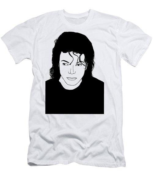 Michael Jackson Men's T-Shirt (Slim Fit) by Lionel B