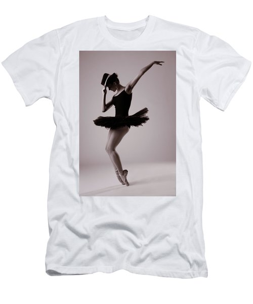 Michael On Pointe Men's T-Shirt (Athletic Fit)