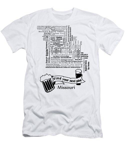 Micro Brew Missouri Men's T-Shirt (Slim Fit) by Ryan Burton