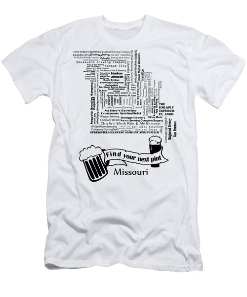 Micro Brew Missouri Men's T-Shirt (Athletic Fit)