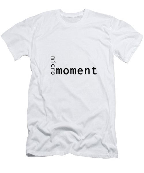 Micro Moment Men's T-Shirt (Slim Fit)