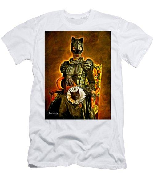 Middle Ages Catwoman - Da Men's T-Shirt (Athletic Fit)
