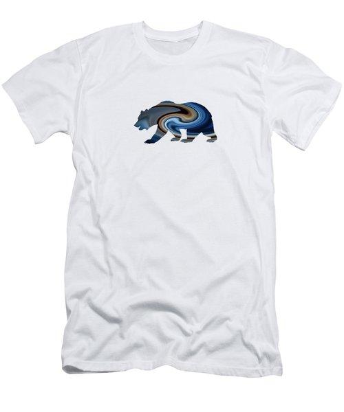 Midnight Bear Men's T-Shirt (Athletic Fit)