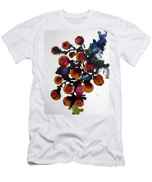 Midnight Magiic Bloom-1 Men's T-Shirt (Slim Fit) by Alika Kumar