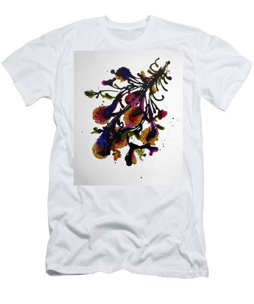 Midnight Magic-2 Men's T-Shirt (Slim Fit) by Alika Kumar