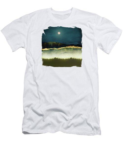 Midnight Moonlight Men's T-Shirt (Athletic Fit)