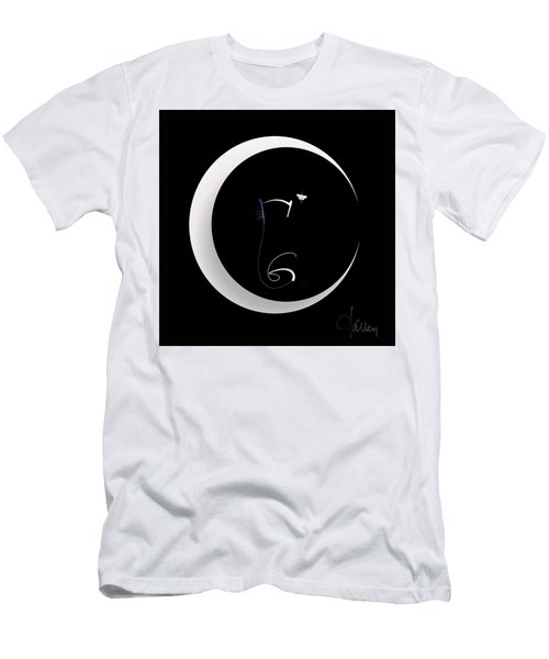 Moonlight Rendezvous 2 Men's T-Shirt (Athletic Fit)
