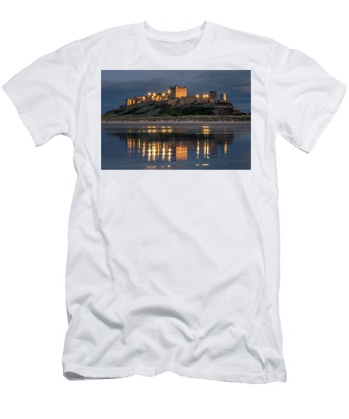Mighty Castle At Night Men's T-Shirt (Athletic Fit)