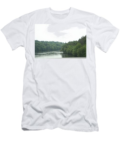 Mighty Merrimack River Men's T-Shirt (Athletic Fit)