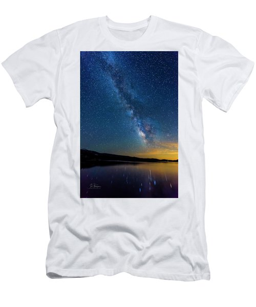 Milky Way 6 Men's T-Shirt (Athletic Fit)