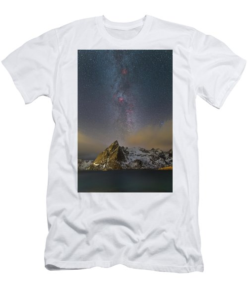 Milky Way In Lofoten Men's T-Shirt (Athletic Fit)