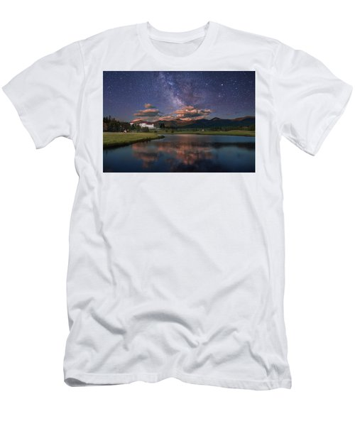 Milky Way Over The Omni Mount Washington Men's T-Shirt (Athletic Fit)