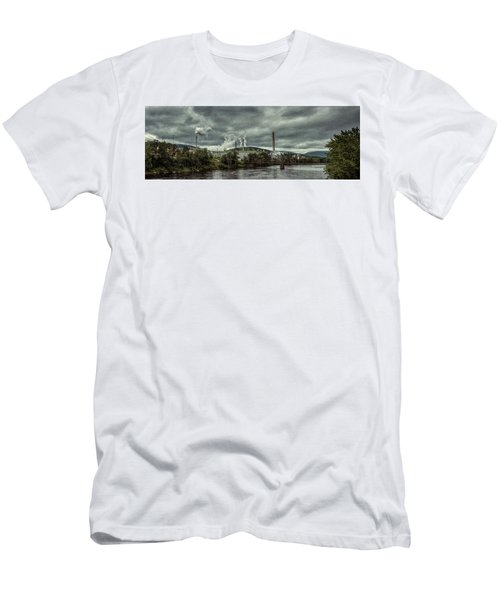 Men's T-Shirt (Athletic Fit) featuring the photograph Milltown by Guy Whiteley