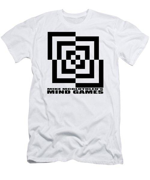 Mind Games 10se Men's T-Shirt (Slim Fit) by Mike McGlothlen