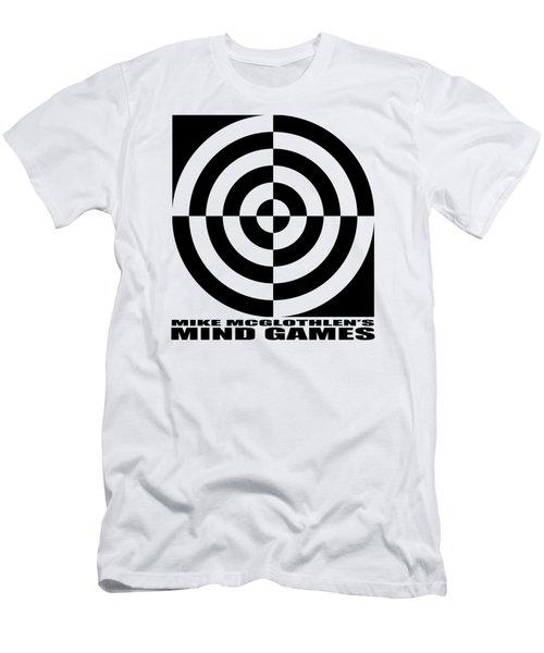 Mind Games 1se Men's T-Shirt (Slim Fit) by Mike McGlothlen