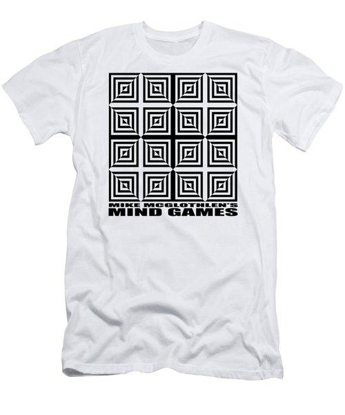 Mind Games 28se Men's T-Shirt (Slim Fit) by Mike McGlothlen