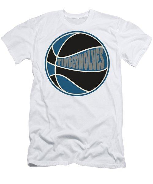 Minnesota Timberwolves Retro Shirt Men's T-Shirt (Athletic Fit)
