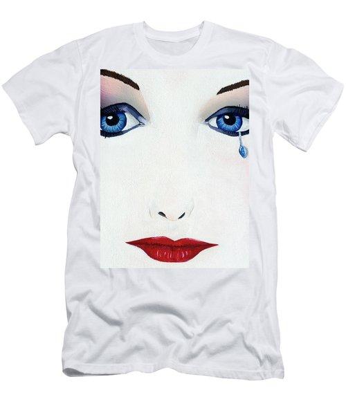 Missing You Men's T-Shirt (Slim Fit) by Mayhem Mediums