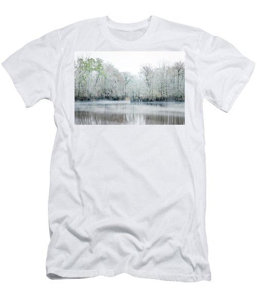 Mist On The River Men's T-Shirt (Athletic Fit)