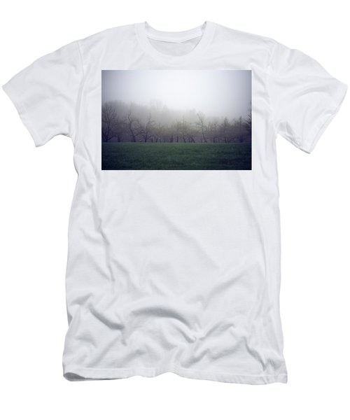 Men's T-Shirt (Athletic Fit) featuring the photograph Misty Mood by Brian Hale