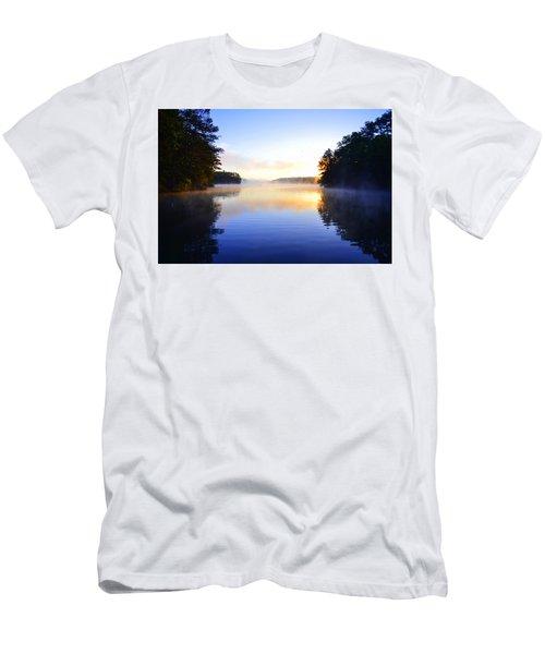Misty Morining Men's T-Shirt (Athletic Fit)