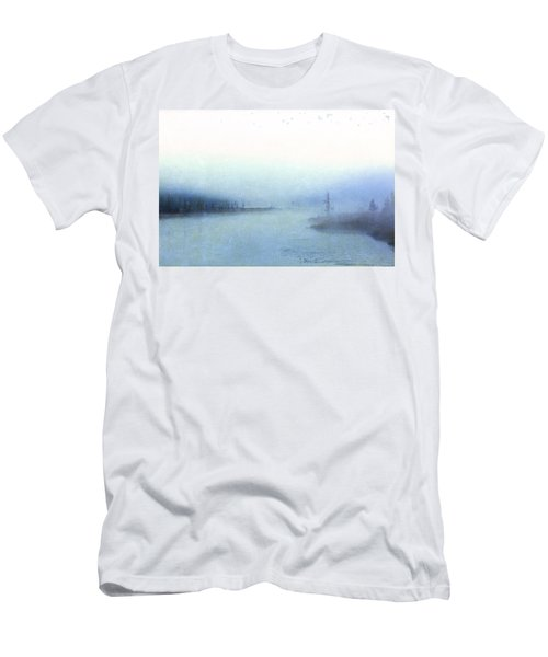 Misty Morning Men's T-Shirt (Slim Fit) by Catherine Alfidi