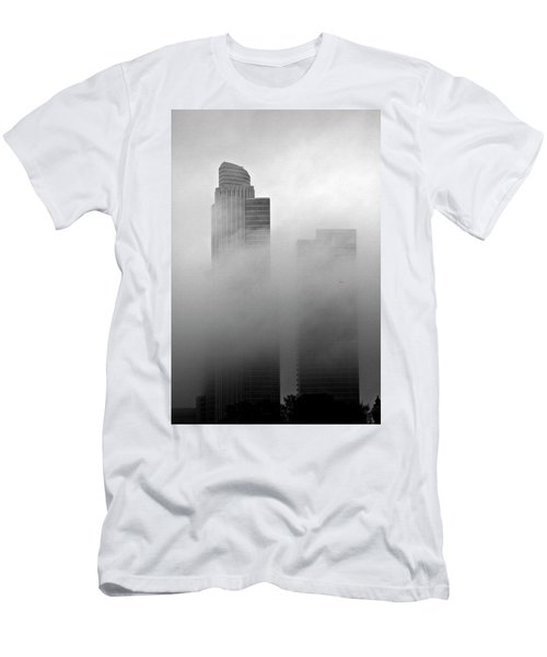 Misty Morning Flight Men's T-Shirt (Athletic Fit)