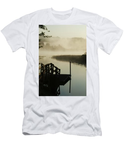 Misty Oregon Morning Men's T-Shirt (Athletic Fit)