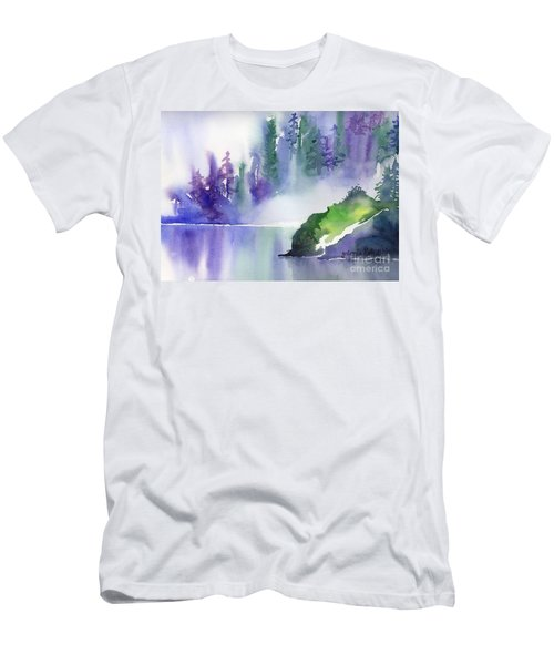 Misty Summer Men's T-Shirt (Athletic Fit)