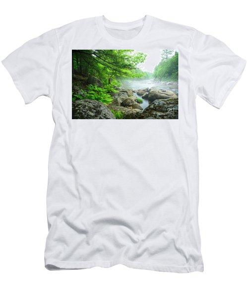 Misty Waters Men's T-Shirt (Athletic Fit)