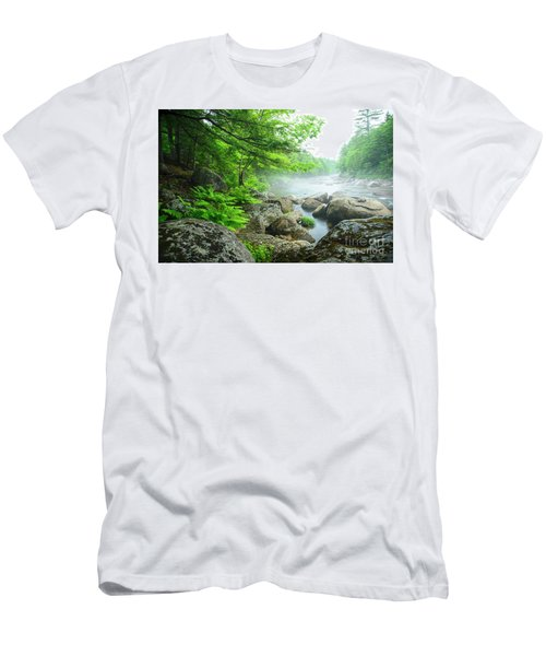Misty Waters Men's T-Shirt (Athletic Fit)