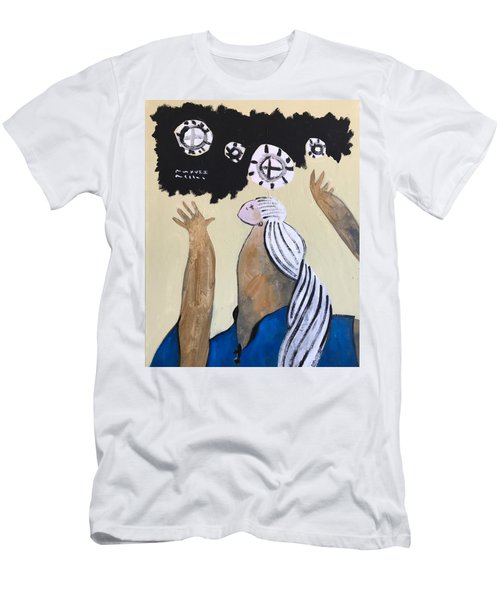 Mmxvii The Ascension No 4 Men's T-Shirt (Athletic Fit)