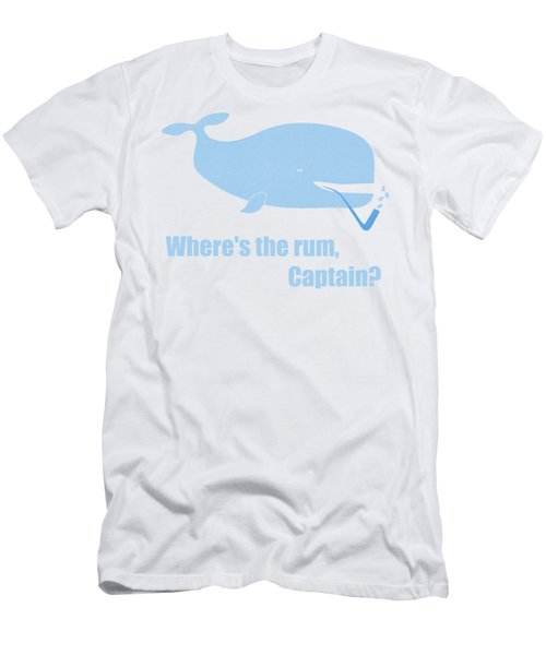Men's T-Shirt (Slim Fit) featuring the painting Moby Dick Or The Whale by Frank Tschakert