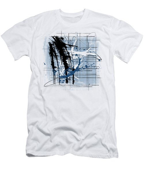 Modern Blue Men's T-Shirt (Athletic Fit)