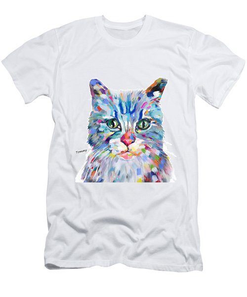 Modern Cat Men's T-Shirt (Athletic Fit)