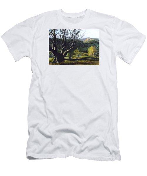 Moel Famau From Loggerheads Men's T-Shirt (Athletic Fit)