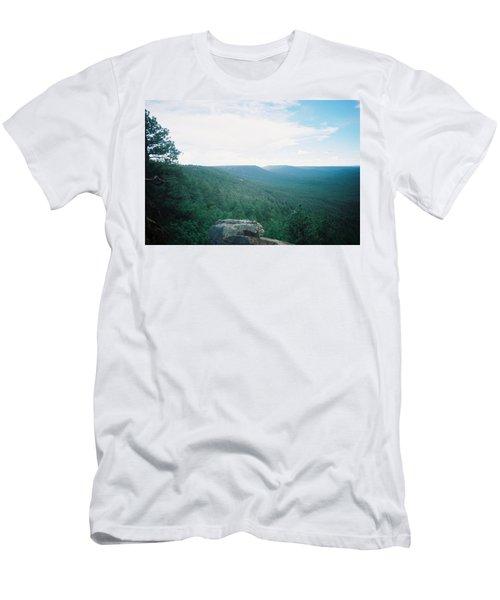 Mogollon Rim - Arizona Men's T-Shirt (Slim Fit) by Pamela Walrath