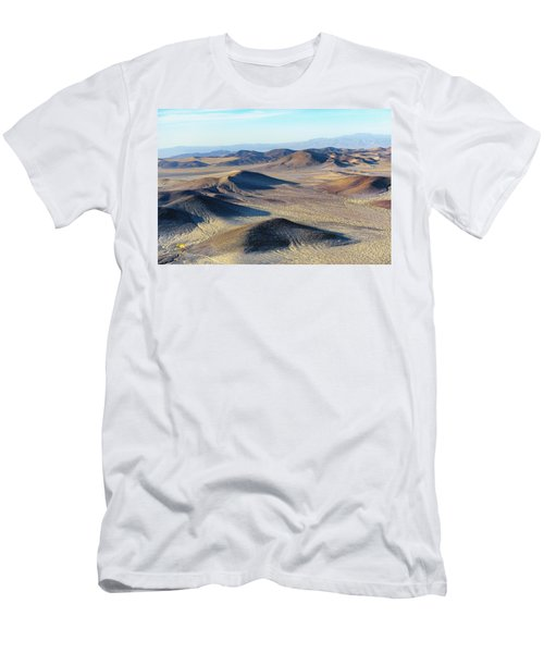 Men's T-Shirt (Athletic Fit) featuring the photograph Mojave Desert by Jim Thompson