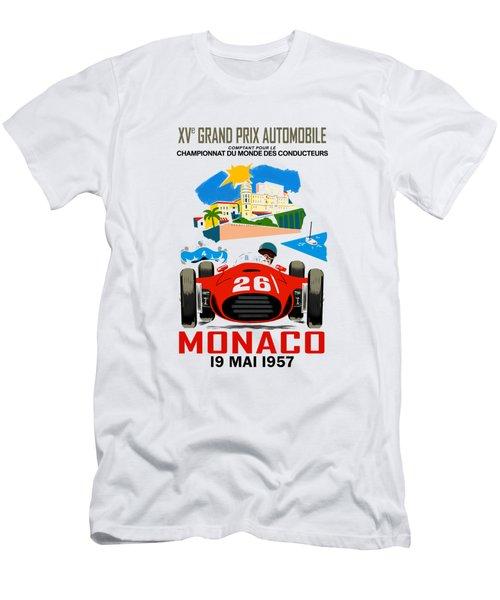 Monaco 1957 Men's T-Shirt (Athletic Fit)